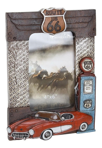 Porta Retrato De Mesa Route 66 Montana West 20380