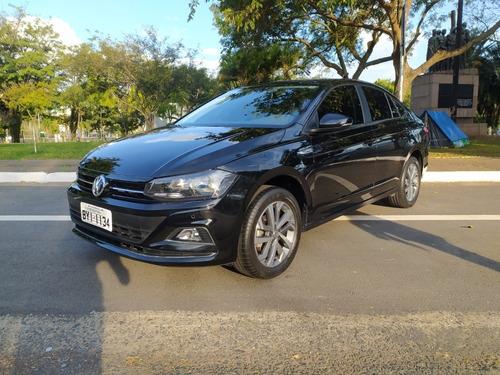 Volkswagen Virtus Comfortline Tech2 2019 - Preto - 15 Mil Km