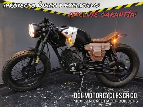 Imagen 1 de 8 de Moto Yamaha 125cc Cafe-brat ¡en Stock! (custom/cafe Racer)