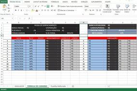 Planilha De Gerenciamento Do Trader Camargo (iq Option)