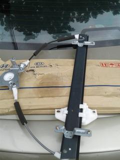 Cremallera Eleva Vidrio Electrico Hyundai Accent