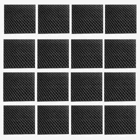 Espuma Acústica Anti Chama - 24 Placas 50x50 X 4cm
