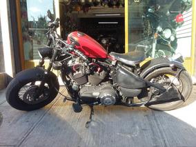 Preciosa Harley Davidson Estilo Bobber Motor 1200