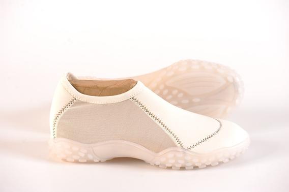 Zapatillas Elastizadas Doblele Alfa Mujer Comodas Colores.