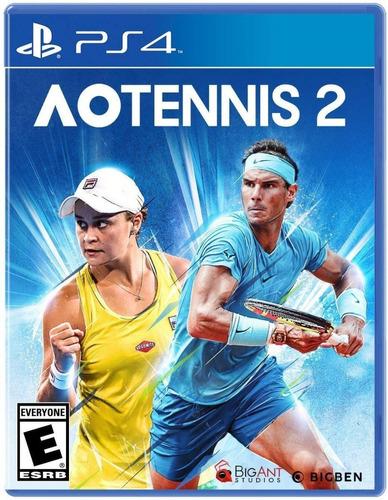 Ps4 Ao Tennis 2 / Fisico