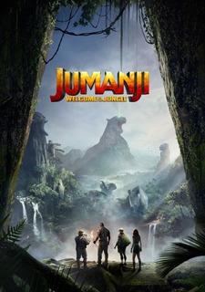 Filme Jumanji - Bem-vindo À Selva Dvd Mídia Física