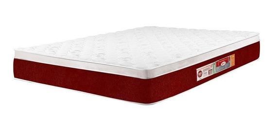 Colchão Castor Casal Red & White D45 Air 138x188x23cm