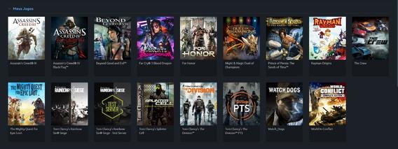 Jogos Para Pc (original, Uplay + Steam)