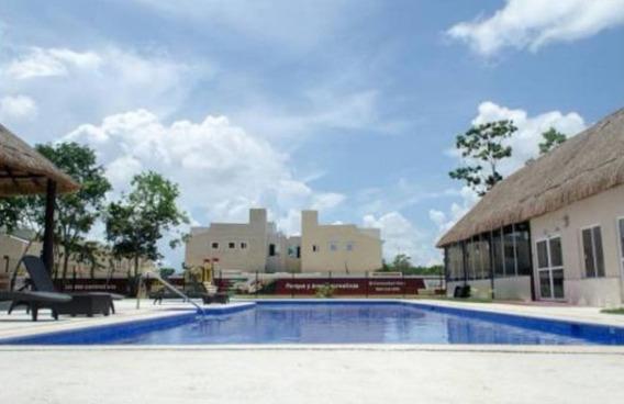 Departamento En Renta Circuito Pelegrini, Playa Del Carmen
