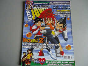 Ultra Jovem Guia Episodios Nº2 Dragon Ball Love Hina Zillion