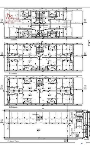 Imagem 1 de 1 de Cobertura Com 2 Dormitórios À Venda, 106 M² Por R$ 390.000,00 - Parque Novo Oratório - Santo André/sp - Co0712