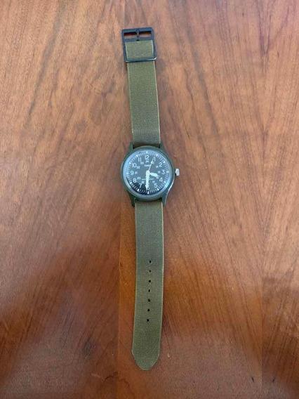Relógio Timex Camper Militar 1983 Colecionador