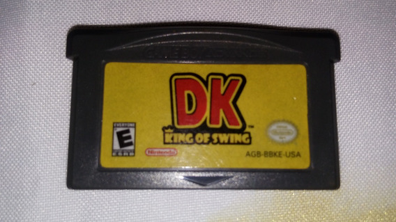Donkey Kong Dk King Of Swind 100% Original Game Boy Advance