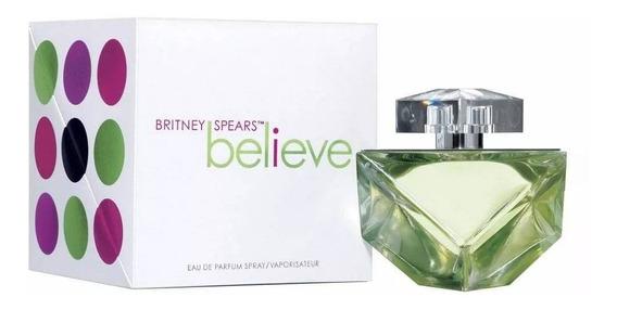 Perfume Believe Britney Spears 100 Ml Eau De Parfum Feminino