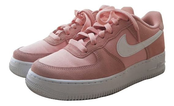 Nike Air Force One Women Rosa Salmão