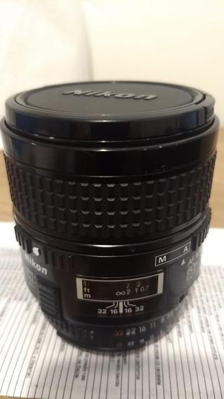Lente Nikon 60mm Micro 2.8