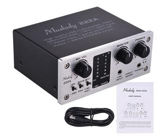 Sistema De Audio Muslady 222a 2 Canales, Interfaz Ext.