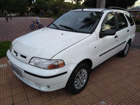 Fiat Palio Weekend 1.0 16v Elx 5p 2001 Completa (-) Ar