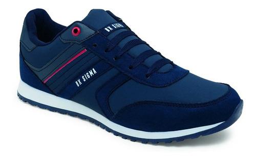 Imagen 1 de 1 de Tenis Urbano Para Caballero 3227 En Color Azul Marino