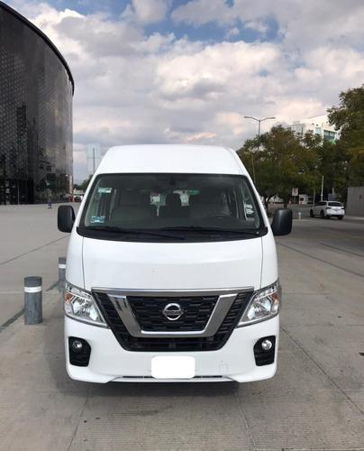 Imagen 1 de 15 de Nissan Nv350 Urvan T/m Modelo 2018