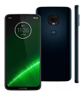 Celular Motorola Moto G7 Plus 64gb 6.2 16mp+5mp Índigo+brind