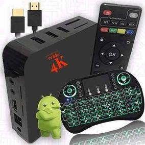 Aparelho Transformar Tv Em Smart Android + Teclado Smart
