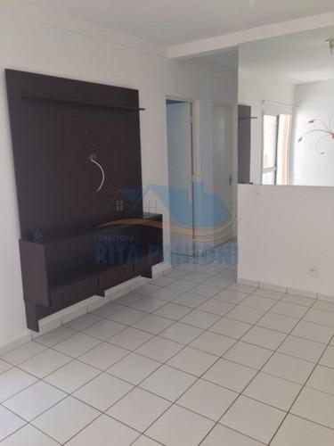 Apartamento, Geraldo Correia De Carvalho, Ribeirão Preto - A4468-v
