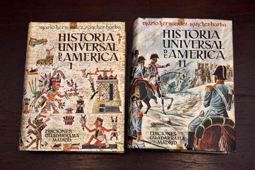 Historia Universal De America Hernandez Sanchez Barba 2 Tomo