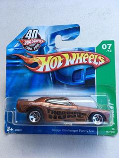 Hot Wheels - Dodge Challenger Funny Car - T-hunt
