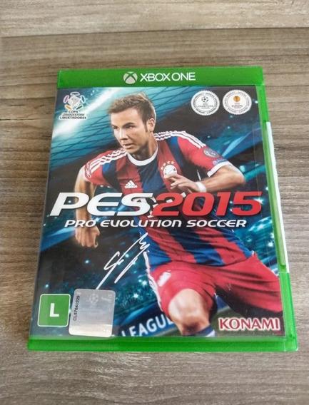 Pes 2015 Xbox One Mídia Física Em Português