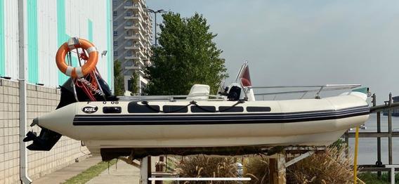 Semirrigido Kiel 4.60 Mercury 50 3 Cilindros 2 Tiempos