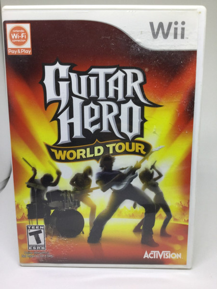 Jogo Guitar Hero World Tour Wii