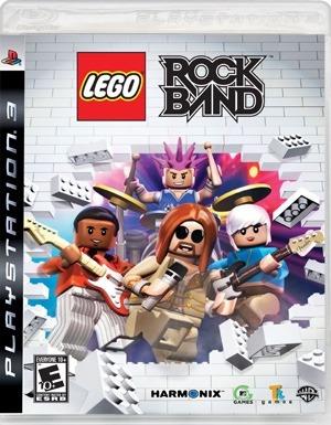 Jogo Rockband Lego Rock Band Ps3 - Midia Fisica Original