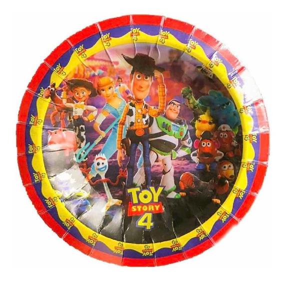 Toy Story 4 10 Platos Pasteleros Fiesta