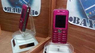 Sony Ericsson W200a Rosa Liberado ---envío Gratis---
