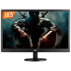 Monitor 18,5 Aoc Lcd Led E970swnl Widescreen C/ Nota Fiscal