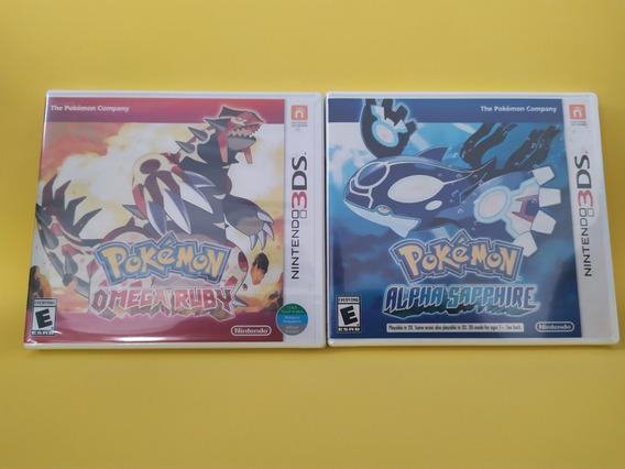 Jogos Originais Nintendo 3ds, Mídia Física, Novos, Pokémon