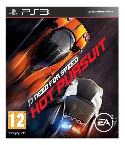 Need for Speed: Hot Pursuit Standard Edition Electronic Arts PS3 Digital