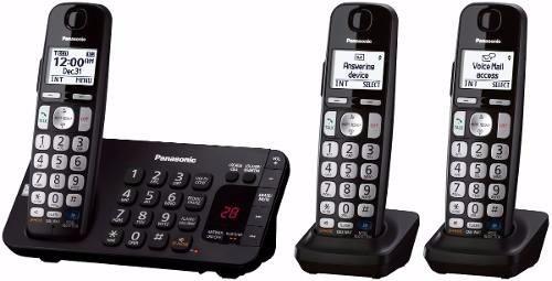 Telefono Inalambrico Panasonic Triple Doble Teclado Apagon