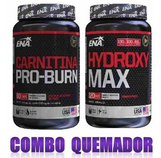 Combo Definicion Carnitina X 60 Y Ripped Max Ena Sport