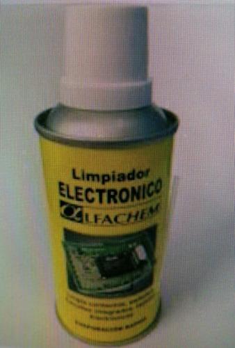 Limpiador Electronico De Contactos Alfachem De 150cc