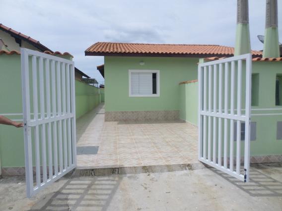 Casa Linda Para Financiar Em Itanhaém.