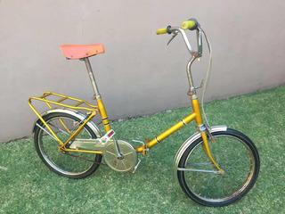 Bicicleta Plegable Antigua Rodado 20(no Hago Envíos)