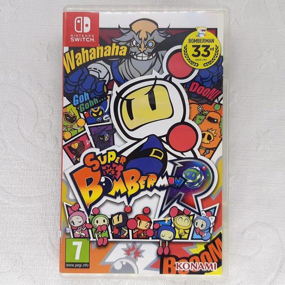 Super Bomberman R - Semi Novo - Fisica - Switch - Gamercado