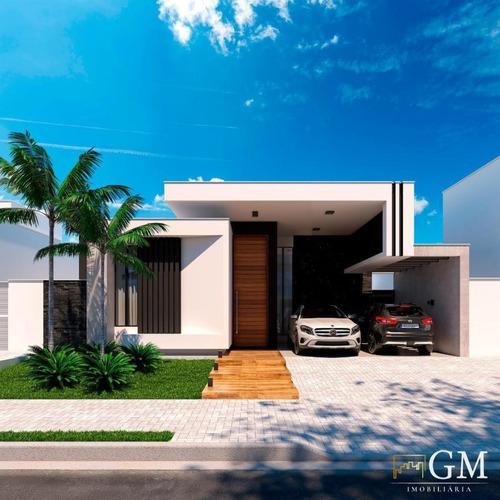 Casa Em Condomínio Para Venda Em Presidente Prudente, Royal Park, 3 Dormitórios, 4 Banheiros - Ccv44170_2-1160832