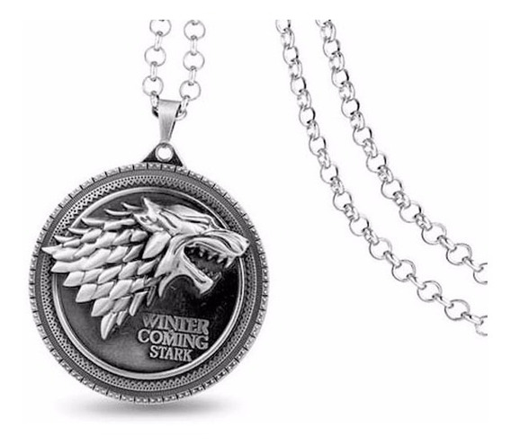 Cordão Game Of Thrones Winter Is Comming Stark - Promoção