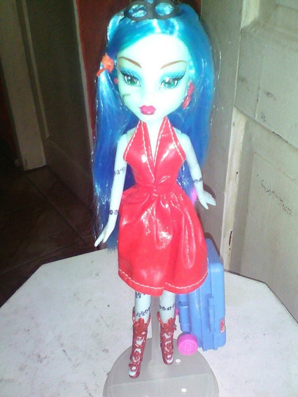 Boneca Tipo Monter High Frankie Nao E Original 26cm