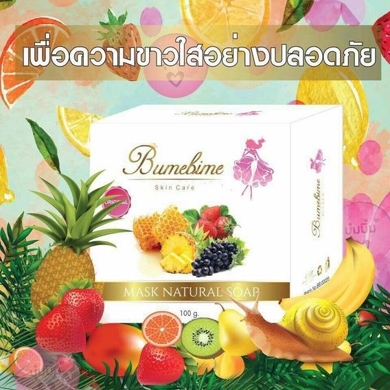 Sabonete Clareador Bumebime Original Tailândia 100g Red