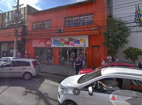 Imagem 1 de 2 de Salão Para Alugar, 450 M² Por R$ 65.000,00/mês - Centro - São Bernardo Do Campo/sp - Sl0388