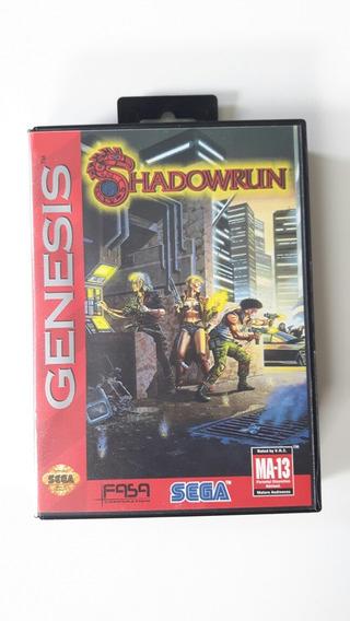 Mega Drive Cartucho Shadowrun Original - Games no Mercado